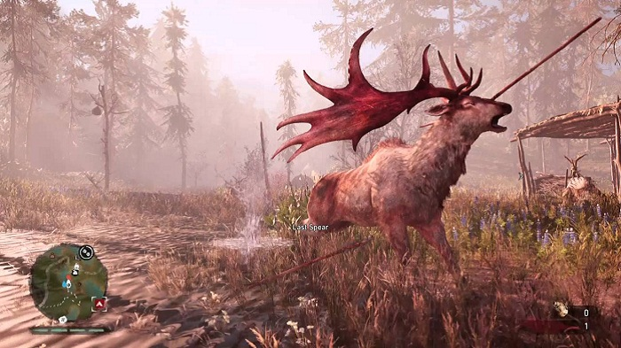 Elk localisation Animaux Far Cry New Dawn wapiti chasse guide