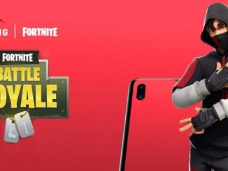 Fortnite IKONIK Skin Galaxy S10 Peau