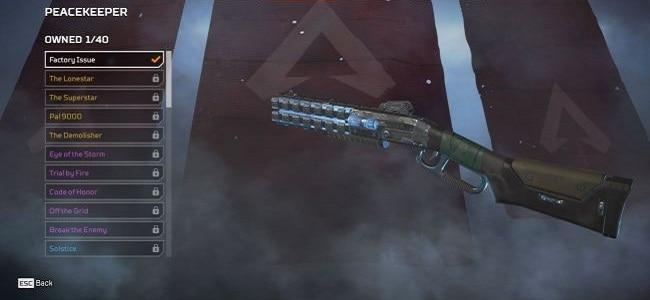 Guide Fusils de chasse Casque bleu Apex Legends armes guide