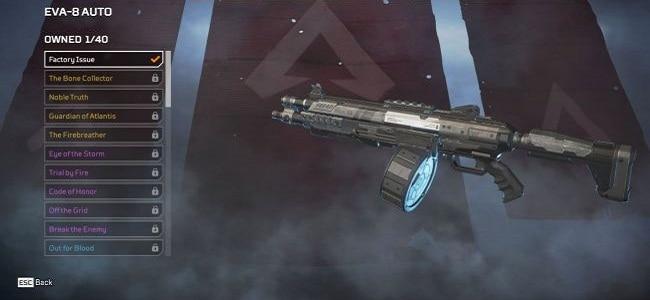 Wiki Guide Fusils de chasse EVA-8 Auto Apex Legends armes guide