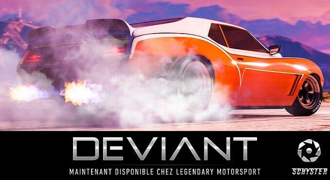 GTA 5 Online Updates LA SCHYSTER DEVIANT GROSSE CYLINDRÉE