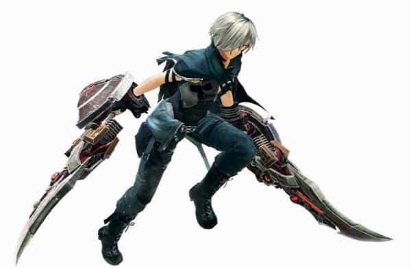 Armes God Eater 3 Biting Edge