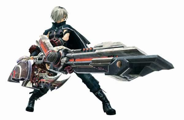 Armes God Eater 3 Ray Gun