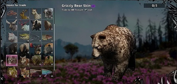 Guide Far Cry New Dawn Animaux Emplacement Ours Grizzly Bear