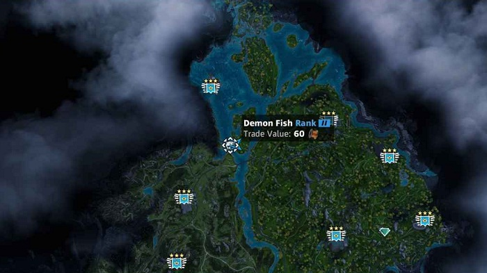 Guide Far Cry New Dawn Animaux Emplacement Poisson Démon Demon Fish