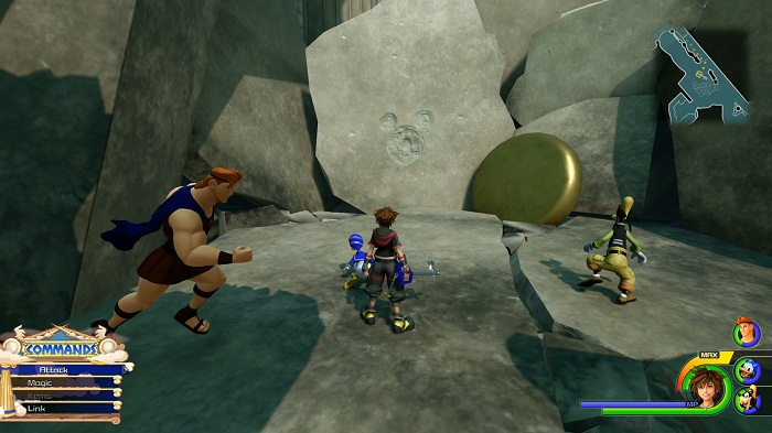 Guide Kingdom Hearts 3 Olympus Lucky emblème 2 Emplacement