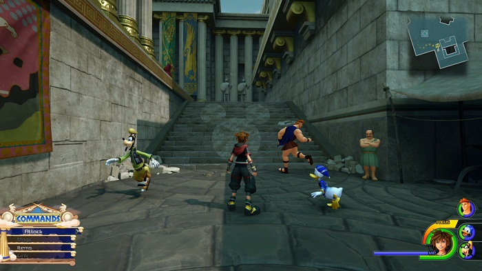 Guide Kingdom Hearts 3 Olympus Lucky emblème 3 Emplacement