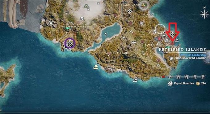 Guide comment trouver et vaincre Medusa dans Assassin's Creed Odyssey