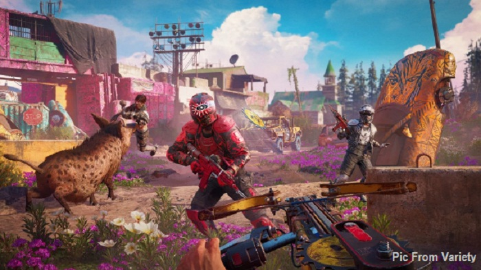 Guns for hire Horatio Far Cry New Dawn armes à feu à louer guide wiki