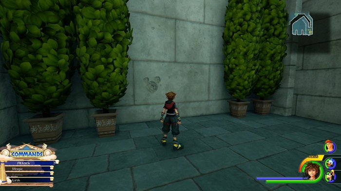 Kingdom Hearts III Olympus Lucky emblème 4 Emplacement