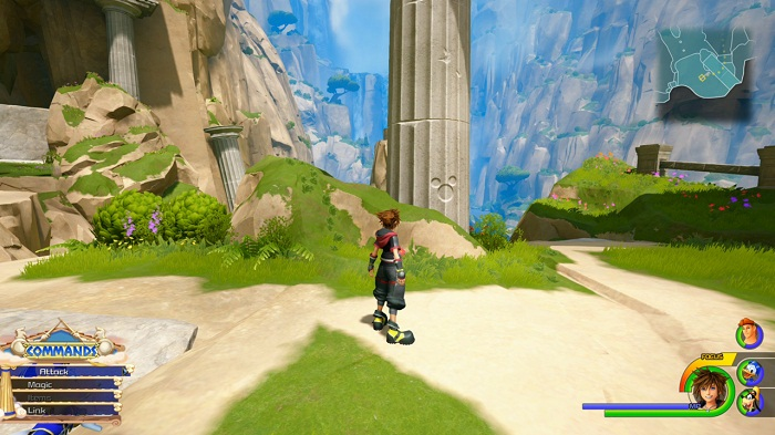 Kingdom Hearts III Olympus Lucky emblème 5 Emplacement