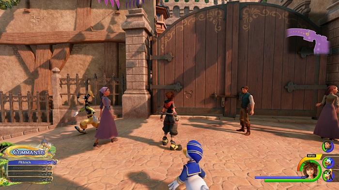 Kingdom Royaume de corona Lucky emblème #6 Guide KH3 kingdom Hearts 3 PS4 Xbox one