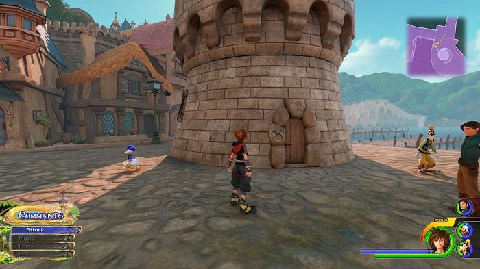 Kingdom Royaume de corona Lucky emblème #7 Guide KH3 kingdom Hearts III PS4 Xbox one