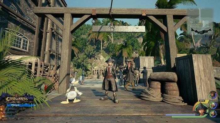Les Caraïbes Lucky emblème #4 Guide KH3 kingdom Hearts III 2019 sur PS4 et Xbox one