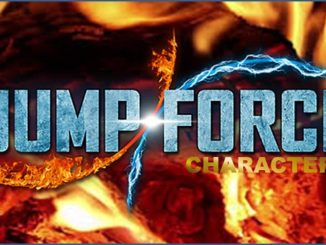 Liste personnages Jump Force crossover 2019