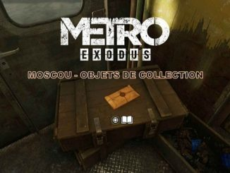 Metro Exodus Collectibles Objets de collection Moscou Guide