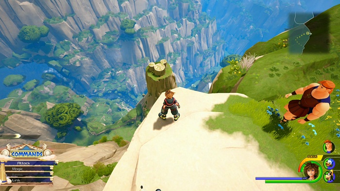 Olympus Lucky emblème 7 localisation Kingdom Hearts III (KH3) Guide