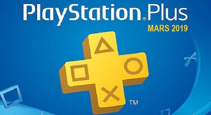 Free games PS Plus Mars 2019 abonnés PS4 Offre Now TV
