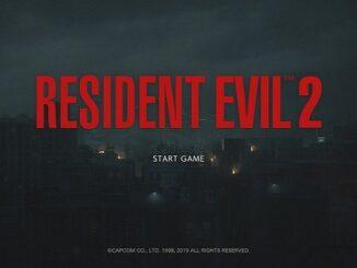Resident Evil 2 Mod Classic UI interface origine classique resident evil 1998