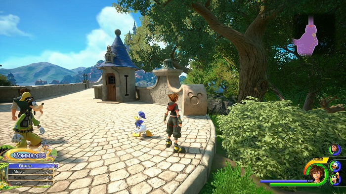 Royaume de la corone Lucky emblème #4 Soluce complète KH3 kingdom Hearts 3 PS4 Xbox one