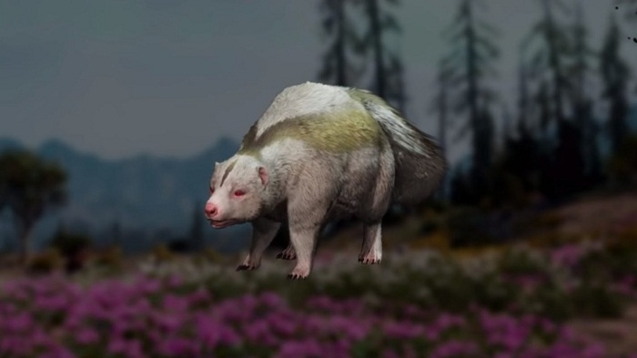 Shunk localisation Animaux Far Cry New Dawn Moufette chasse guide