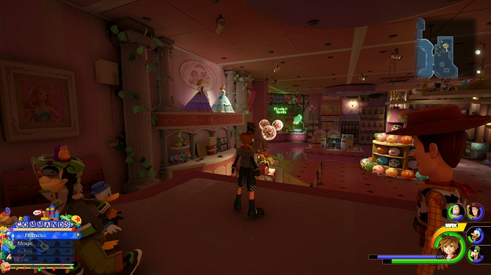 Toy Box Coffre à jouets Lucky emblème #8 Eplacement Kingdom Hearts III Guide KH3 PS4 Xbox One
