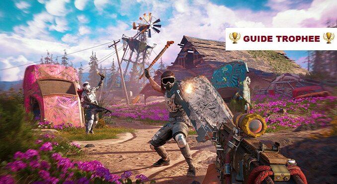 Débloquer toutes les trophées Far Cry New Dawn Guide bronze or argent platine hôte seulement