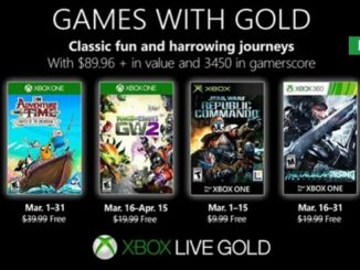 Xbox Games with Gold Mars 2019 telecharger jeux gratuits xbox one xbox 360