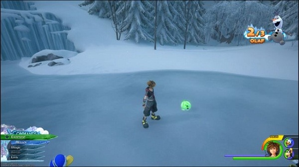 kingdom hearts III soluce Où trouver Olaf et ses jambes