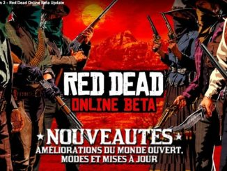 nouvelle mise a jour bêta red dead online 26 fevrier 2019