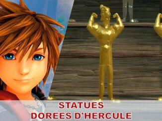 où trouver statue dorée d'hercule dans kingdom hearts 3
