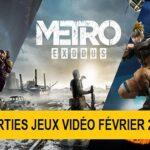 Sorties majeures Jeux Vidéo Février 2019
