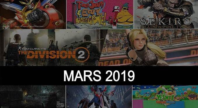 sorties de jeux vid o mars 2019 sur ps4 xbox one pc switch et 3ds