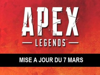 Apex Legends Mise-à-jour Patch Notes Saison 1