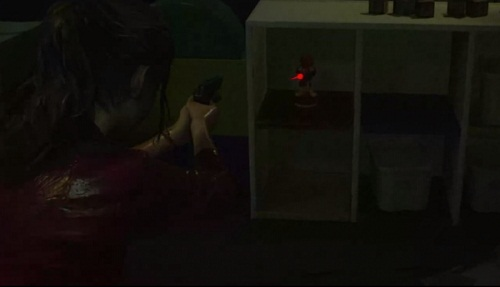 Emplacement Statues Mr. Raccoon Resident Evil 2 Remake compagne Claire