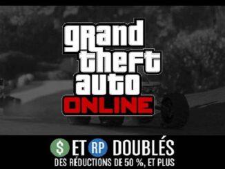 GTA Online 28 mars 2019 GTA$ et RP doublés courses RC Bandito et courses aux points