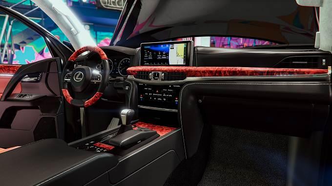 GTA V Mod Lexus LX570 2018