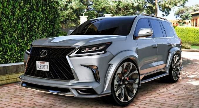 Lexus LX570 2018 GTA5 Mod