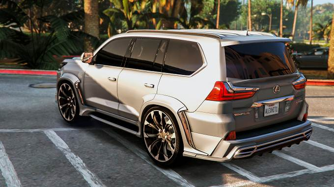 Lexus LX570 2018 Mod GTA5