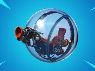 Fortnite Wiki emplacement nouveau véhicule Baller de Fortnite ballon de hamster géant