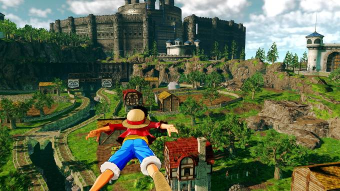 One Piece World Seeker Ruby Village Tour Prison Tower