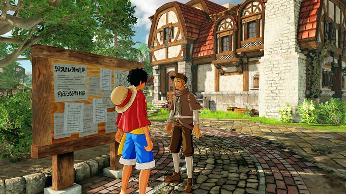 One Piece World Seeker Topaz Mine Town mission