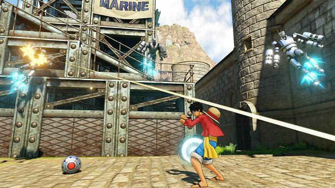 One Piece World Seeker base de la marine