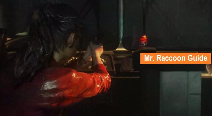 Statues Mr. Raccoon Resident Evil 2 Remake Guide M. Raccoon