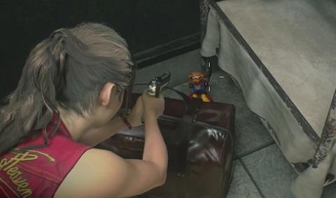 Où Trouvez Statues Mr. Raccoon Resident Evil 2 Remake Salle de repos
