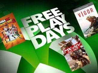 Xbox Free Play Days Télécharger et jouer gratuitement ce week-end