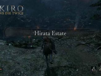 comment débloquer Hirata Estates Sekiro Shadows Die Twice