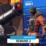 Défis Fortnite Saison 8 Semaine 2 : Comment les relever – Emplacement Canons Pirate, Ravitaillements…