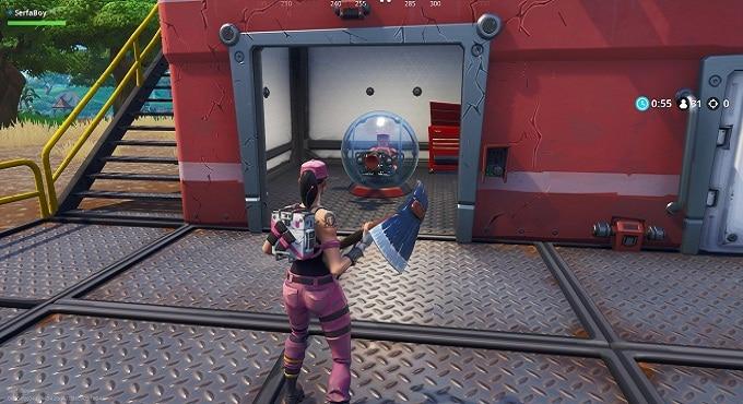 Emplacement véhicule Baller de Fortnite ballon de hamster avant-poste expédition