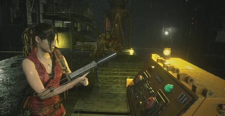 Combat de boss William - G2 Les Égouts Resident Evil 2 Guide
